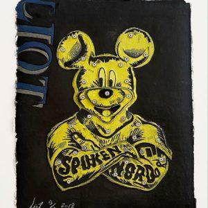 Eric Liot - Mickey jaune