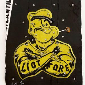 Eric Liot - Popeye jaune