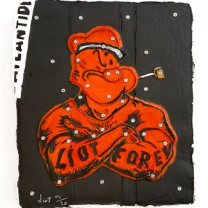 Eric Liot - Popeye rouge