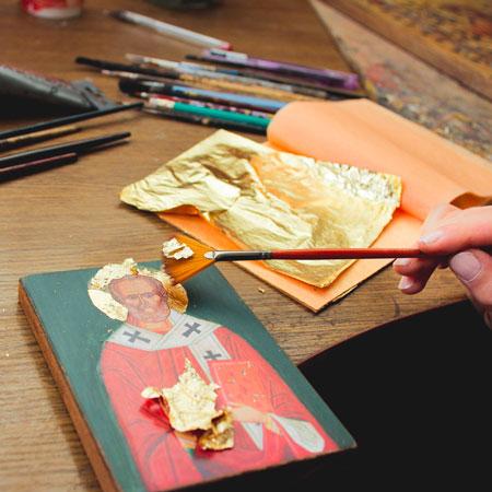 La Galerie de l'Atelier - Dorure à la feuille d'or