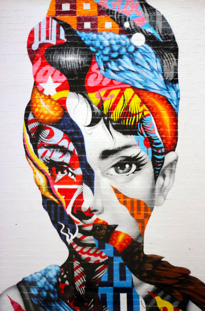 Tristan Eaton - Audrey of Mulberry